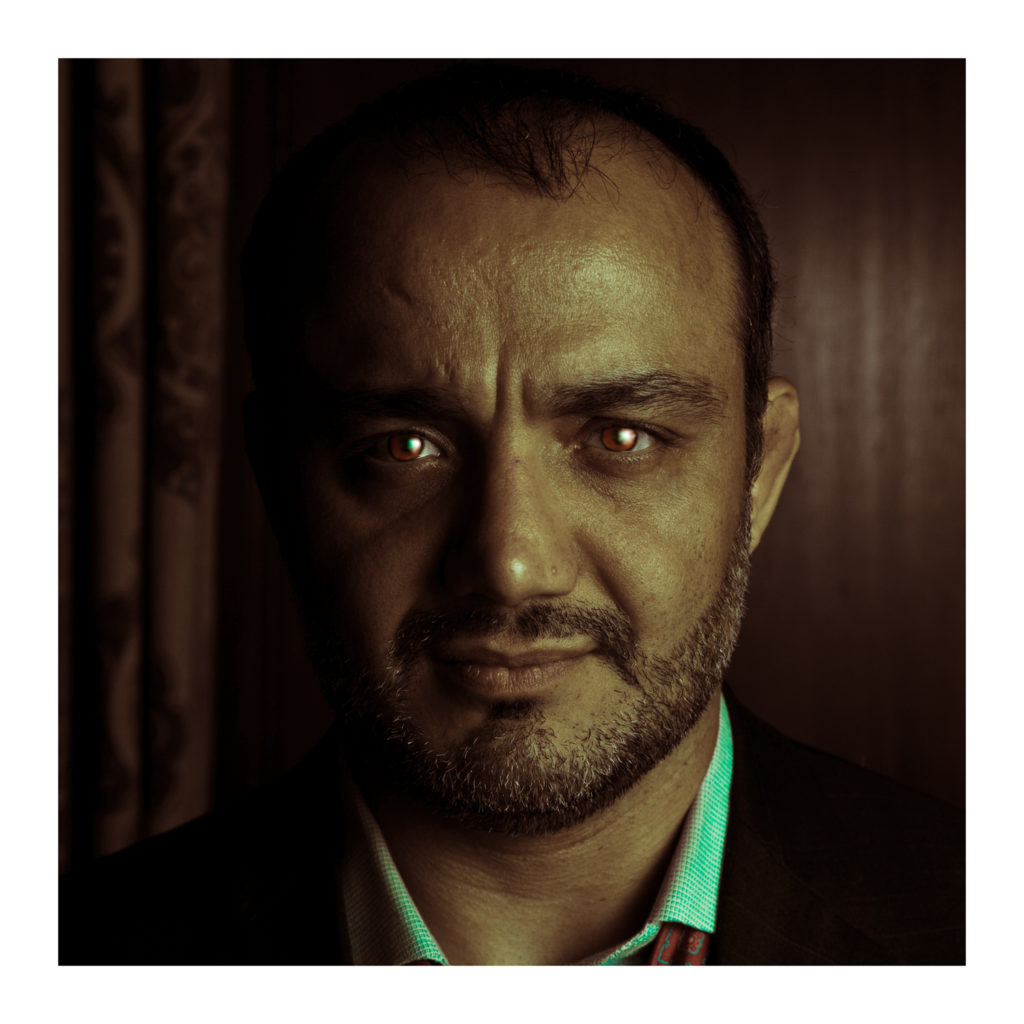 Hooman Tavakolian - The Fire Inside portrait