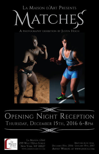 Opening Reception Poster for Matches